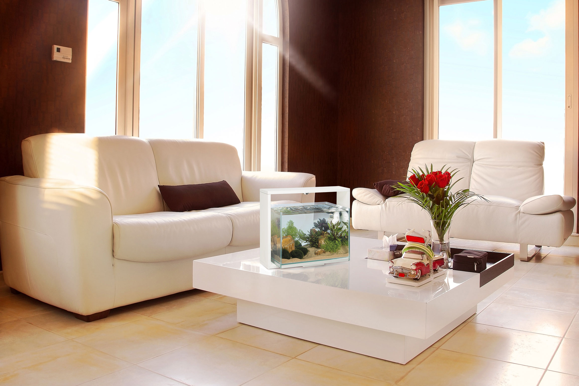 How To Furnish A House With Design Fish Tank