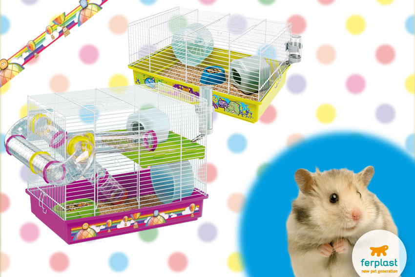 decor line hamster cages by Ferplast