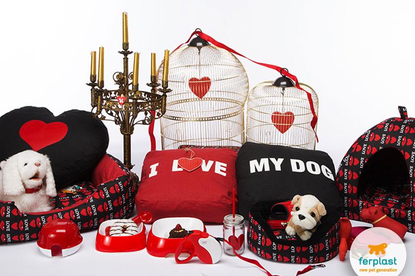 St Valentine S Day Gift Ideas For Your Beloved Dog Love Ferplast