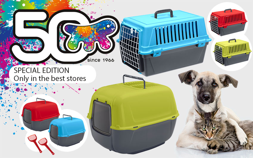 Atlas trendy dog carrier and cat toilette prima