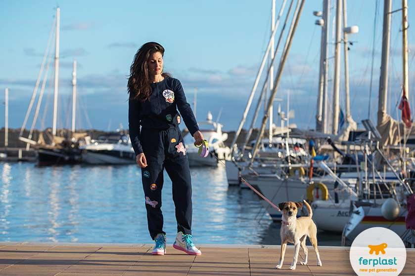 viajar de navio com cães