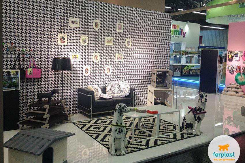 Ferplast dog's products area at Interzoo 2016 Nuremberg