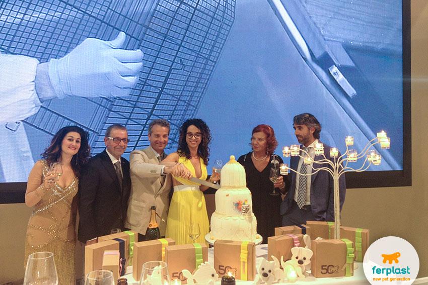 festa 50 anni ferplast a interzoo 2016 norimberga