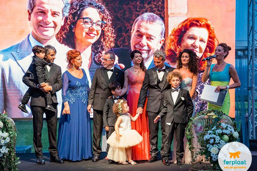 discursos da familia Vaccari para a festa do 50º aniversário da Ferplast