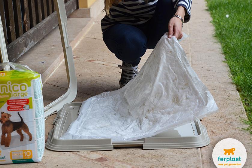 tapetes higiênicos ferplast treinamento do seu filhote