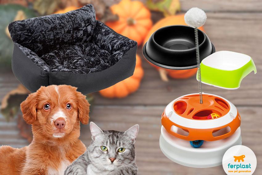 accessori per cani e gatti per halloween di ferplast