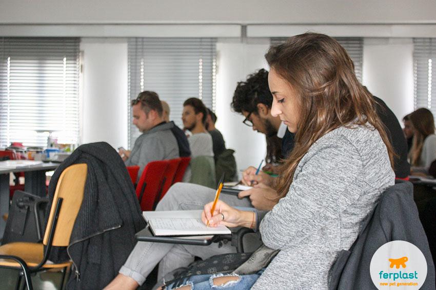 studenti della scuola italiana di design di padova
