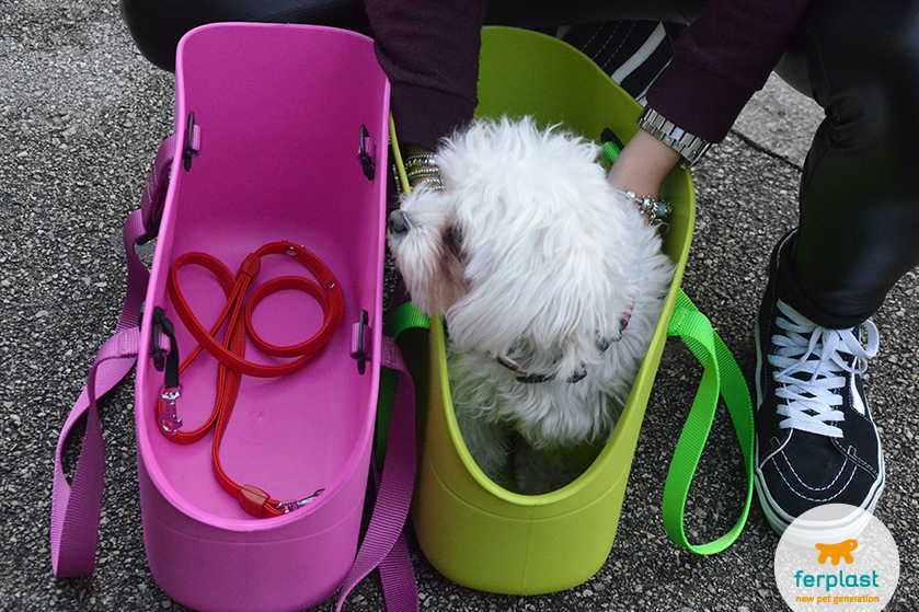 bolsa para transporte de cão ferplast