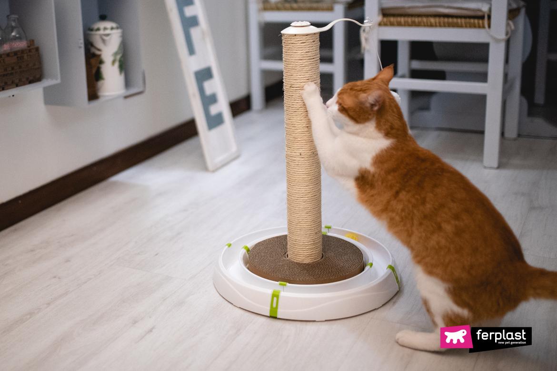 Tiragraffi Ferplast per la giornata mondiale del gatto