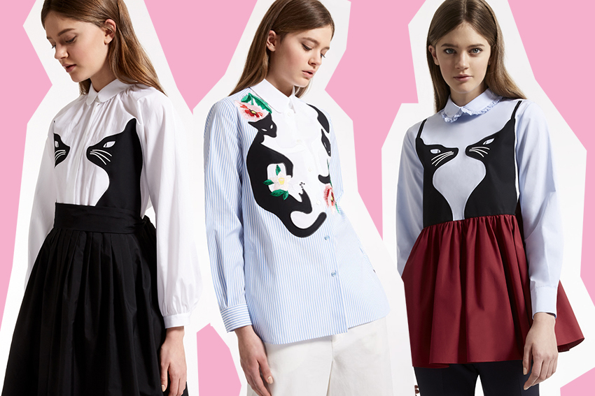 f0caa3ebb1 Collezione Chatmise Max Mara, Gatti e Camicie alla moda - LOVE FERPLAST