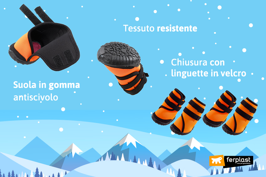 ferplast-Обувь-для-собак-для-Холод