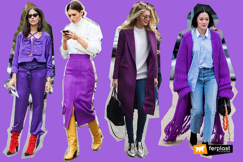 trend 2018 Ультрафиолетового мода цвет
