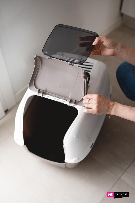 туалет для кошек  Prima Cabrio Ferplast
