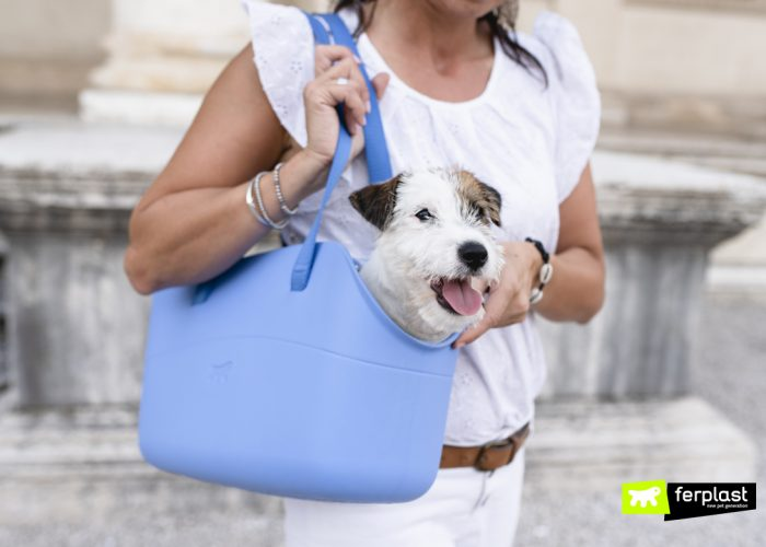 TAKE YOUR DOG WITH YOU AT ALL TIMES IN FERPLAST'S WITH ME BAG!