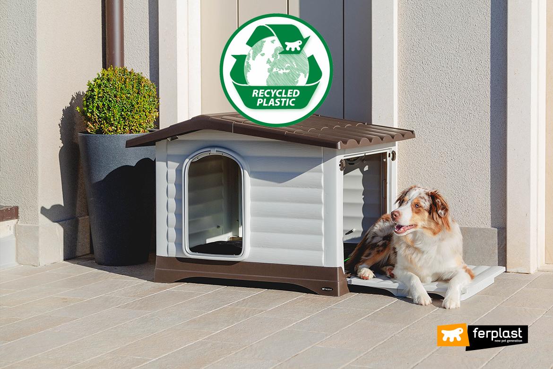 Dog villa reciclado plàstico Ferplast