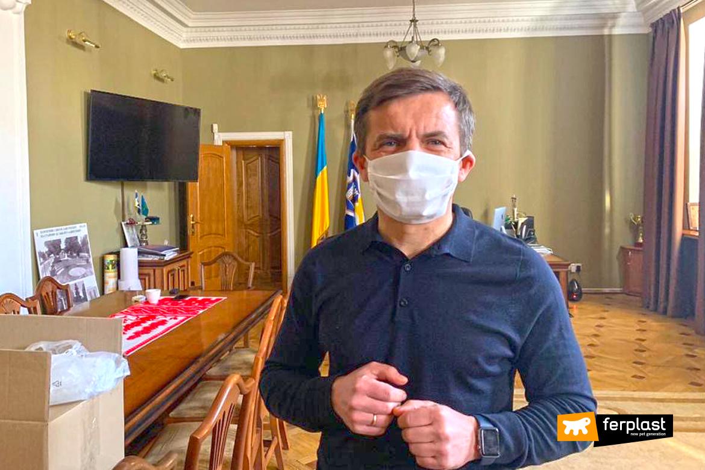 Máscaras-de-coronavírus-Ferplast-plant-Ucrânia