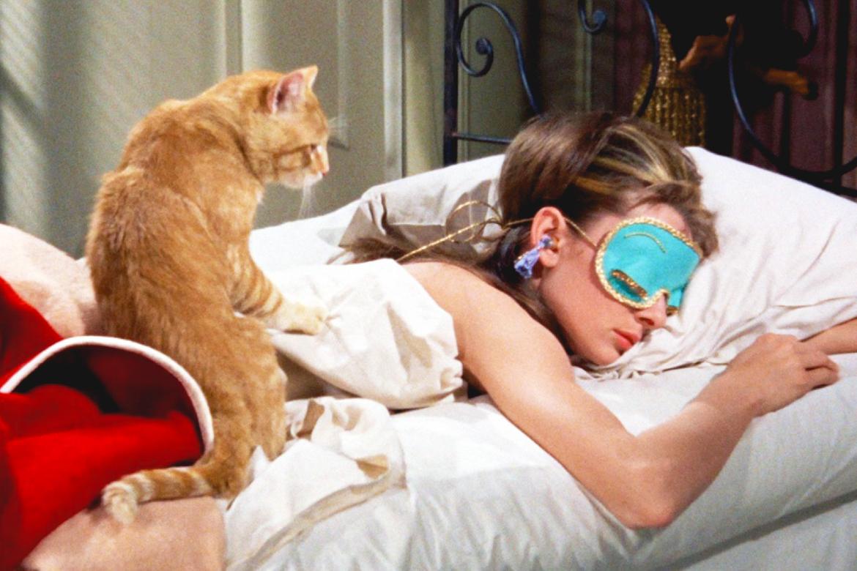 Café da manhã na Tiffany Audrey Hepburn gato