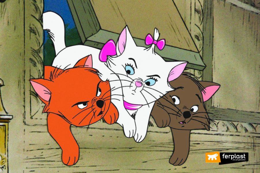 célèbres chats dessins animés films