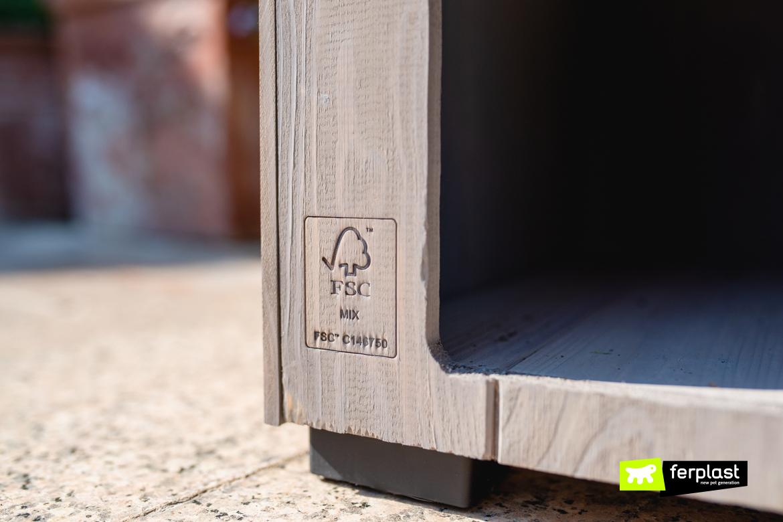 fsc ferplast изделия из дерева