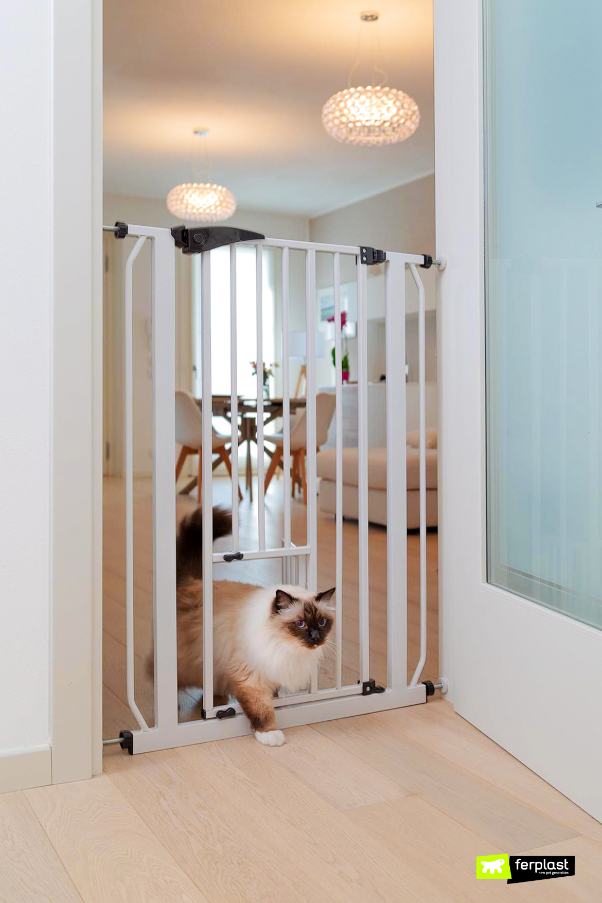 Разделить пространства домашние животные с воротами