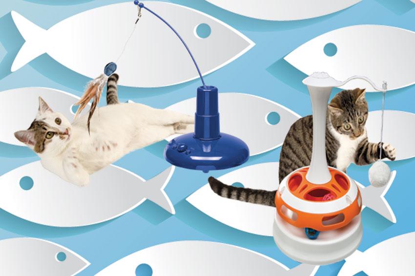Gatti felici e giocherelloni love ferplast for Cani giocherelloni