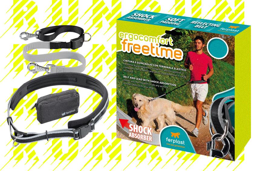 guinzaglio Ferplast Ergocomfort Freetime ideale per corsa con cane