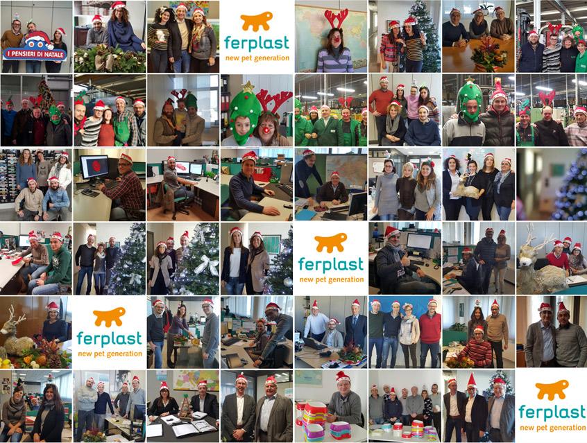 счастливых праздников от ferplast